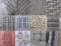 Vanda Robert — Woven felt pillows and structures 2005 - 2008 Hand...