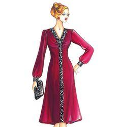 F3422, Marfy Dress