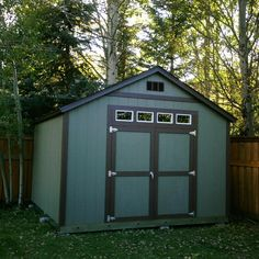 Amazing Storage Sheds Donu0027t Have To Be Eyesores In Your Backyard! A Dark