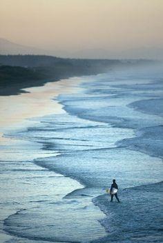 New Brighton Beach, Canterbury, New Zealand