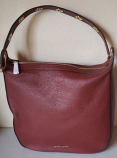 0ddfc24f2407 Michael Kors Raven Large Brick Leather Shoulder Hobo Bag Orig for sale  online