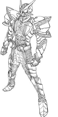 Bad ass Kamen Rider W fan art!