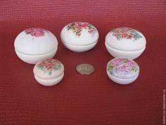 Купить Микро шкатулка. Миниатюр, кукольный дом - кремовый, миниатюра, шкатулка, маленькая шкатулка