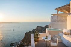 31 Airbnbs That Will Blow Your Mind The Fisherman's Cave House, Santorini (carved into a cliff above the seaside town of Oia)