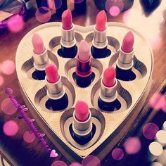 Mac lipsticks <3