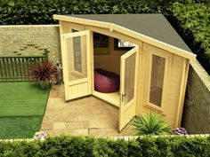 Ex-Display Deluxe Triangle Cabin W4.5m x D3.0m