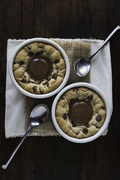 Dessert for Two: Peanut Butter Cup Deep Dish Cookies | Design Mom | Bloglovin'