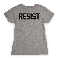 "Resist - Stand up for progressive, social change, and resist all forms of inequality with this ""Resist"" social justice design! Perfect for standing up for human rights, nasty women, social activism, activists, social justice warrior, protests, and resisting social, cultural, and political oppression!"