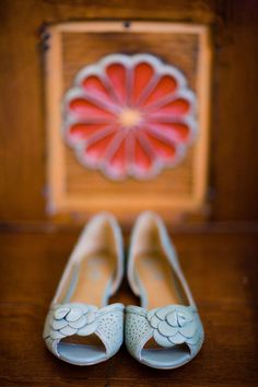 Yes, I dig the kicks but I'm mostly inspired by the rosette which I think may inspire a painting for my daughter's room.