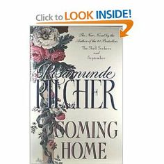 Coming Home: Rosamunde Pilcher.  1/2/2014.   I've read this book before, but I've been reading through all of Rosamunde Pilcher's books for the last few months.  This is my least favorite of her books, so I did skim some toward the end of the book.  It just gets rather long and boring after a while.