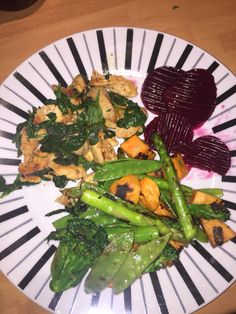 Eat clean  chicken, spices, veg x