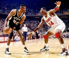 David Robinson vs Hakeem Olajuwon