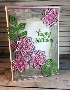 Flourish Thinlits - Narelle Fasulo - Simply Stamping with Narelle - available here - http://www3.stampinup.com/ECWeb/ProductDetails.aspx?productID=141478