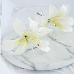 Tiger Lily Gumpaste flower