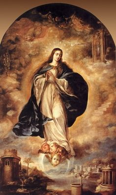 Immaculada Concepcion. di Juan de Valdes Leal