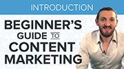 Content marketing video series that teaches how to develop a content strategy to increase traffic, sales and repeat business.