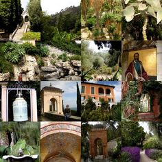 Hanbury Gardens in Italy - a few miles across the border from Menton, Fr