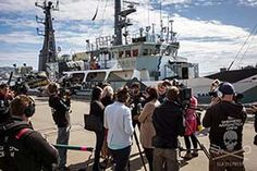 Sea Shepherd Global - The Sam Simon departs for Operation Icefish Sea Shepherd, News Latest, New Zealand, Conference, Ocean, The Ocean, Sea