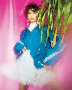 ストリートの定番メンズアイテムに甘いチュチュやレースを毒っ気たっぷりに着る #Badassprinces な着こなしがラッド#UMBRO のブルゾンにホワイトのパニエとネックコルセットでフェミニンをプラス May issue P32 NYLON JPN 2k17 SPRING model @juliasumire styling @ribbon8 outer #vintage panierneckcorset @corrida_corset earrings @mimi.wade #nylonjapan #nylonjp #fashion #fashionstory #stylist #ribbon #risakato #Y2k #street #2k17 #caelumjp  via NYLON JAPAN MAGAZINE OFFICIAL INSTAGRAM - Celebrity  Fashion  Haute Couture  Advertising  Culture  Beauty  Editorial Photography  Magazine Covers…