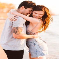 This cute couple slays in their sunset sweetheart session on kent island ju Cute Couples Teenagers, Cute Couples Texts, Cute Couples Cuddling, Cute Couples Goals, Couple Goals, Couple Picture Poses, Cute Couple Pictures, Couple Photos, Hugs