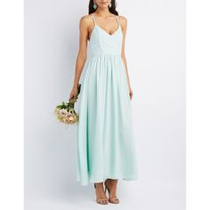 Charlotte Russe Crochet & Chiffon Maxi Dress (1.115.050 VND) ❤ liked on Polyvore featuring dresses, sage, maxi dress, floral dress, floral print maxi dress, chiffon bridesmaid dresses and crochet maxi skirt