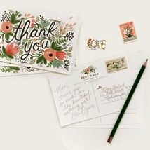 Rifle Paper 'Thank You' cards