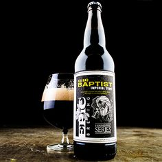 Epic Brewing Big Bad Baptist Imperial Stout, Bourbon Aged Imperial Coffee Chocolate Stout!!! 12% ABV and AMAZING :)