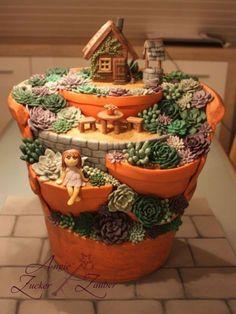 Die schönsten Miniatur Gartenideen, die Ihrem Hinterhof eine magische Atmosphäre verleihen! Tipp: Wunderbar, um mit den Kindern zusammen zu arbeiten!