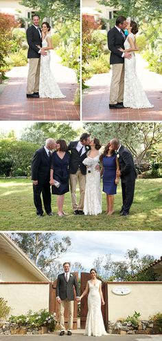 The pose in the middle with the bride/groom and parents is ADORABLE!! I've never seen this before. LOVE!