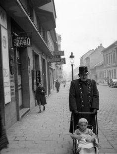 1939 Budapest Retek utca a Széna tér felé nézve. Lissák Tivadar/Fortepan.hu