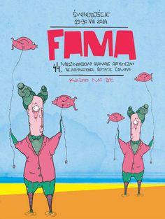 Fama Festival - Świnoujście, Poland - Mateusz Kluczny 2014   www.artbymaku.blogspot.com