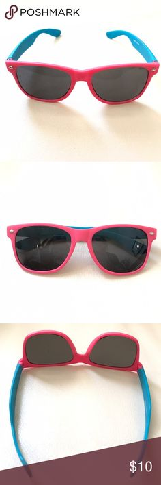🦄Pink and blue rave wayfarer . Accessories Sunglasses