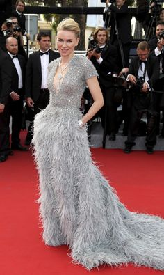 Cannes Film Festival 2015: All of the Best Red Carpet Dresses - Naomi Watts in Elie Saab | StyleCaster