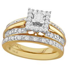 Keepsake Lovelight 1/4 Carat T.W. Diamond 10kt Yellow Gold ...