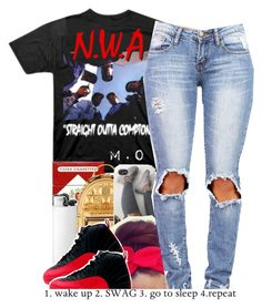 """""""."""" by renipooh ❤ liked on Polyvore featuring MCM"""