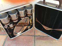 Vintage  bar travel case -by Everwear by HollyWouldFind on Etsy