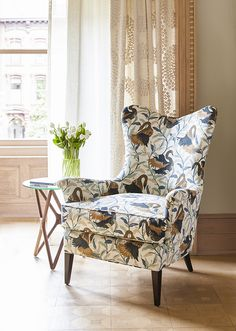 Features: DwellStudio For RA@Home Swanwood Fabric In Bronze #fabric #design  #