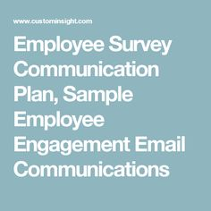 Sample Employee Surveys  Sample Engagement Survey Questions
