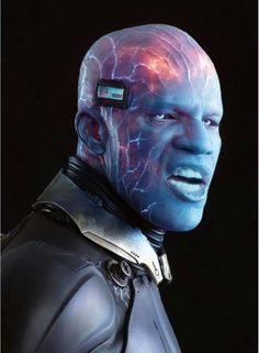Jamie Fox as Electro in The Amazing Spiderman 2