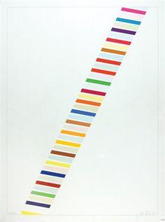 Color ladder 1 (+ Color ladder A; 2 works) by John Plumb