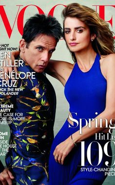 Blue Steel - that look cuts like a knife! Zoolander on the cover of Vogue.
