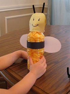 bees - love these bee bottle craft....have made them for several years in my class & the kiddos love making them!