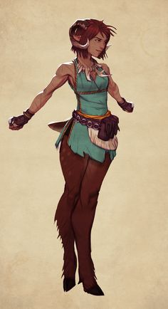 Puckette the Faun by Makkon on DeviantArt