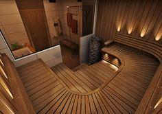 Sun Sauna - Valintaohjelma Sauna Design, Steam Room, Saunas, Wellness Spa, Architecture Design, Art Deco, Interior Design, Outdoor Decor, House
