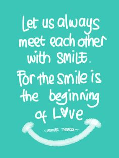 ~ mother theresa