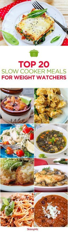 Top 20 Slow Cooker Meals for Weight Watchers