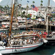 Not sure what to do here in San Diego this #LaborDayWeekend ? Maybe the Festival of Sail is what you are looking for! This is the largest tall ship festival on the west coast and is hosted at the Maritime Museum of San Diego, transforming the North Embarcadero into a #nautical theme park for 4 adventure filled days. Check out more information on the link below. Make sure to wear your sunscreen and Enjoy!