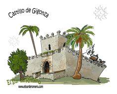 Castillo de Gigonza, Paterna de Rivera, Cádiz, Andalucía por la humanidad, España.