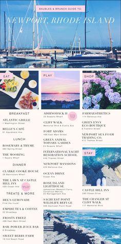 Newport, Rhode Island Travel Diary » Baubles & Brunch