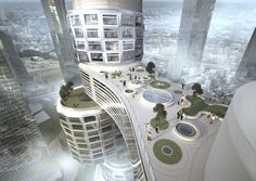 Seoul's Clustering Towers Connected by 30-Story Bridge - My Modern Metropolis